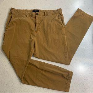 American Eagle Next Level Flex slim khaki pants